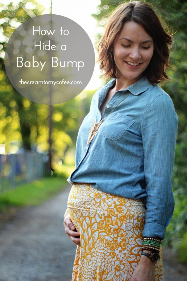 how-to-hide-baby-bump