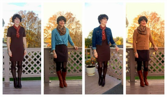 One Dress Four Ways collage 2